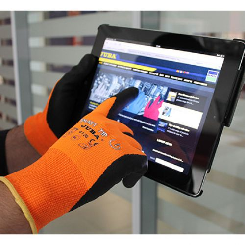 Polyco Gloves Smart Tip Touchscreen Nitrile Foam Coated Size 9 [Pair] Ref PHYKC/09