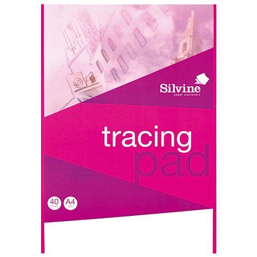 Silvine A4 Tracing Pad PK6