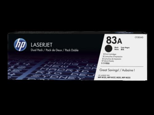 HP CF283AD 83A Black Toner 1.5K Twinpack