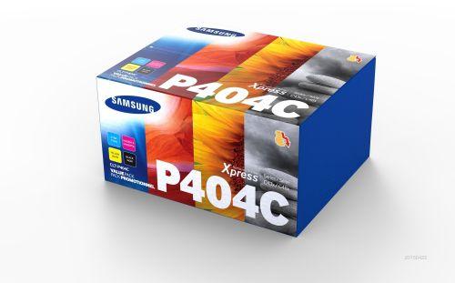 Samsung CLT P404C Black and Colour Toner 1.5K 3x 1K Multi