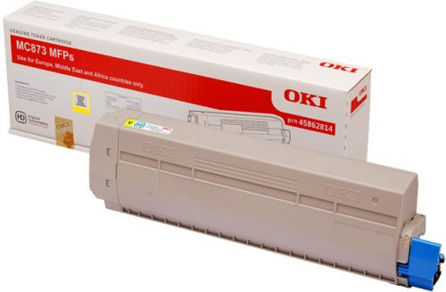 OKI 45862814 Yellow Toner 10K