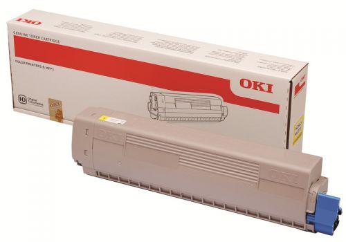 OKI 45862837 Yellow Toner 7.3K