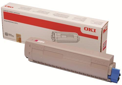 OKI 45862838 Magenta Toner 7.3K