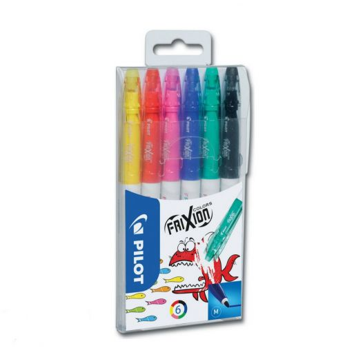 Pilot FriXion Colouring Pens Assorted PK6