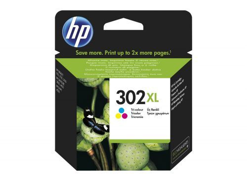 HP F6U67AE 302XL Tricolour Ink 8ml