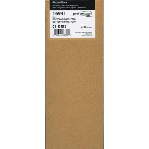 Epson T6941 Ultrachrome XD Photo Black Ink 700ml