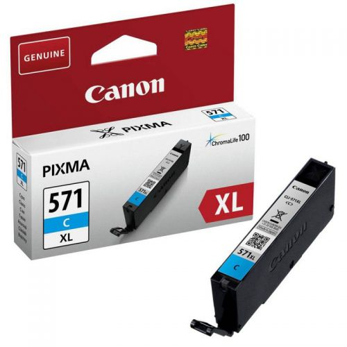Canon 0332C001 CLI571XL Cyan Ink 11ml