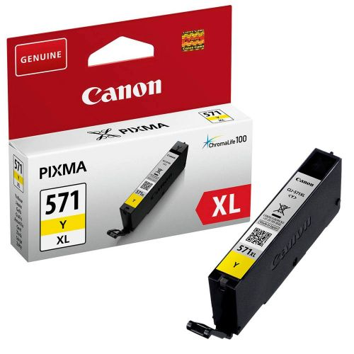 Canon 0334C001 CLI571XL Yellow Ink 11ml