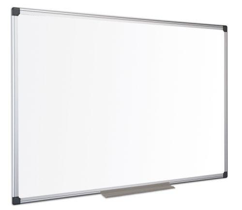 Bi-Office Maya Enamel Aluminium Framed Wtbrd 180x120cm