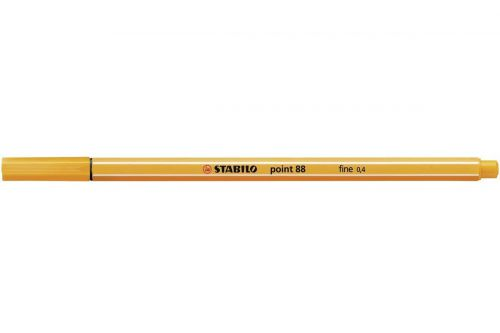 Stabilo Point 88 Fineliner Pen Orange PK10