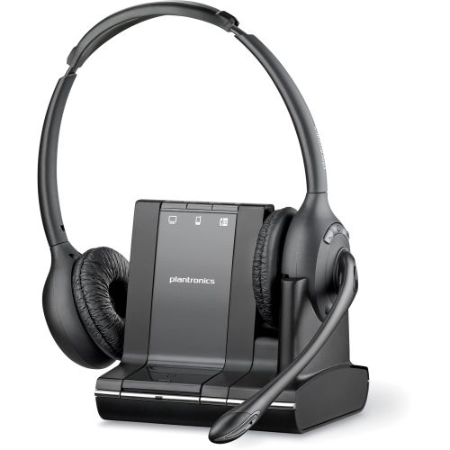 Plantronics Savi W720A 3 In 1 UC Binaural DECT Headset
