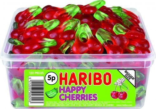 Haribo Happy Cherries Tub 120