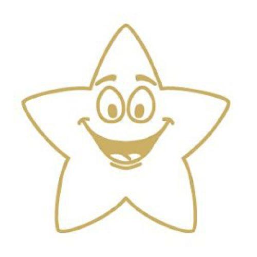 Colop Motivational Stamp Gold Star