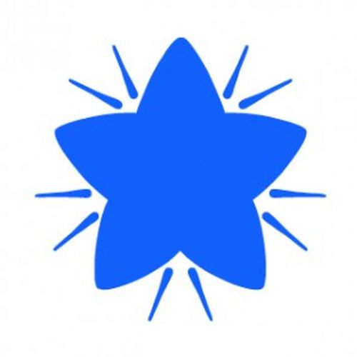 Colop Motivational Stamp Blue Star