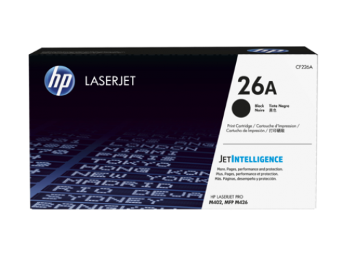 HP CF226A 26A Black Toner 3.1K