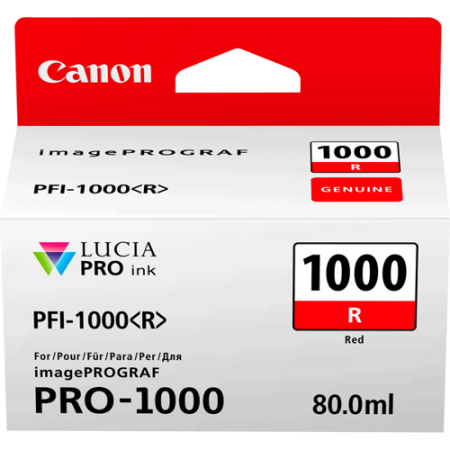 Canon 0554C001 PFI1000 Ref Ink 80ml