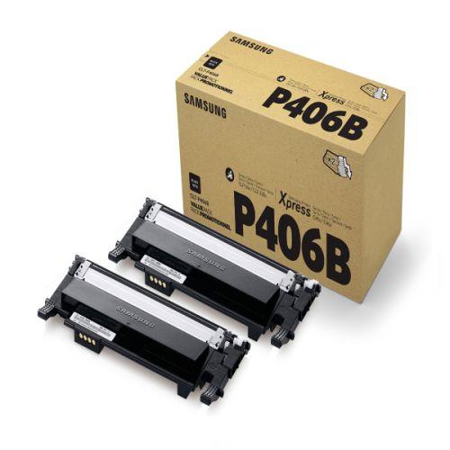 Samsung CLT P406B 2 Pk Black Toner