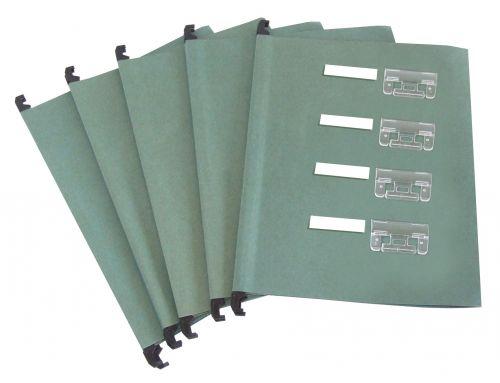 ValueX A4 Suspension File Manilla V Base Green (Pack 50)