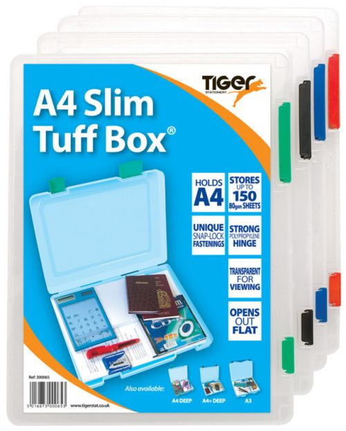 Image for Tiger A4 Slim Tuff Box