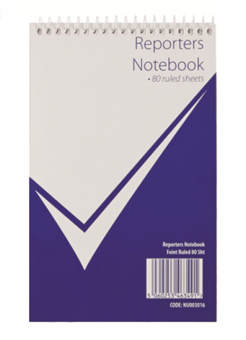 Value Reporters Notebook 160 Page Feint Ruled PK20