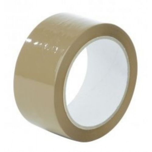 Value PVC Packing Tape 48mmx66m Brown (Pack 6)