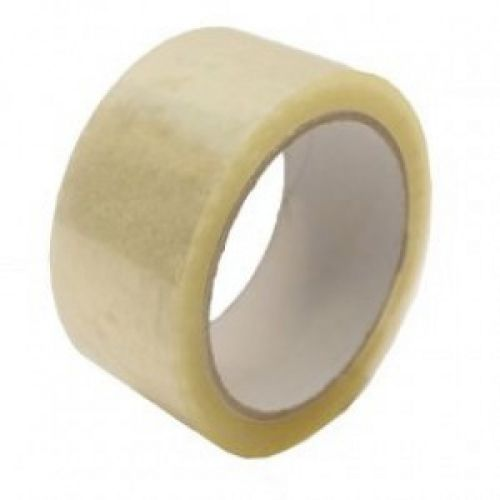 Stikky Low Noise Packing Tape 48mm x 66m Clear PK6