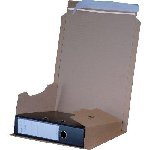 Smartbox Filepack File Mailer 320x290x35-80mm A4 Brown PK25