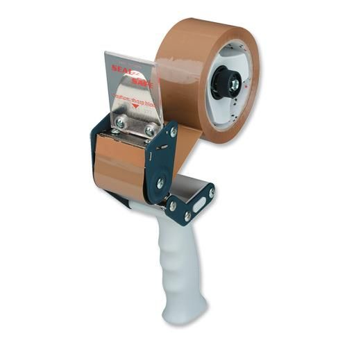 Pacplus Safety Handheld Tape Dispenser for 50mm Tapes Red