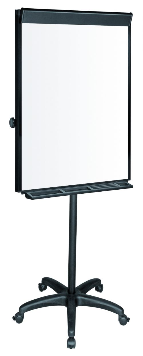 Bi-Office Vanguard Black Mobile Easel Euro