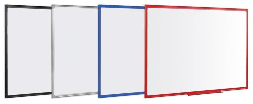 Bi-Office Maya Alu Finish Frame Magnetic WTboard 60x45cm