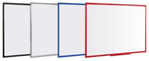 Bi-Office Maya Alu Finish Frame Magnetic WTboard 90x60cm