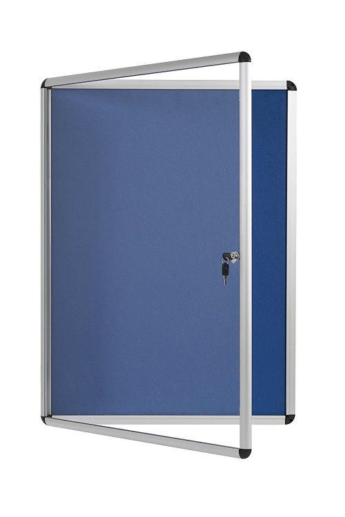 Bi-Office Enclore BL Felt Lockble Ntcbrd 4 x A4 500x674mm