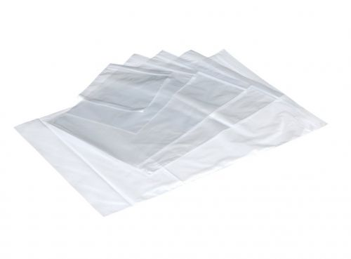 ValueX Plain Grip Bags 40mu 102 x 140mm Clear (Pack 1000)