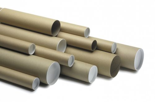 Postal Tube 970 x 100mm Brown PK5