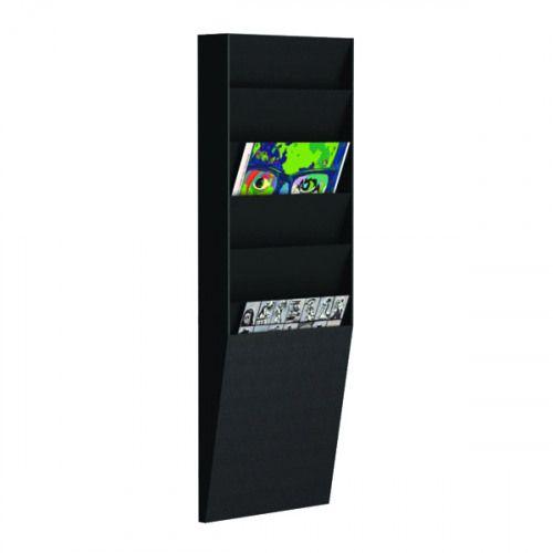 Fast Paper Document Panel 1x6 Comp A4 Black