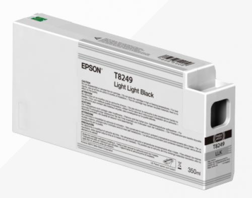 Epson C13T824900 T8249 Light Light Black Ink 350ml
