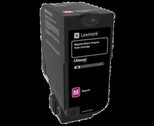 Lexmark 74C20M0 Magenta Toner 3K