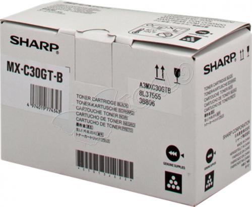 Sharp MXC30GTB Black Toner 6K