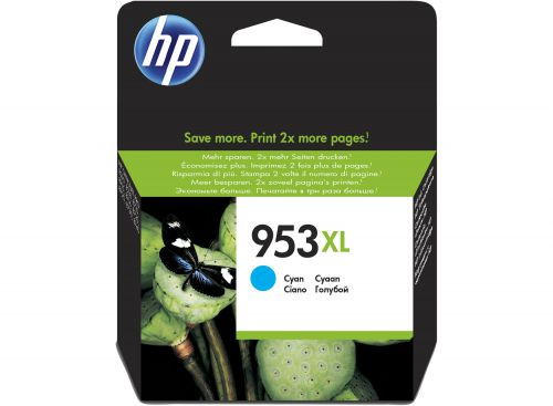 HP F6U16AE 953XL Ink Cyan 20ml