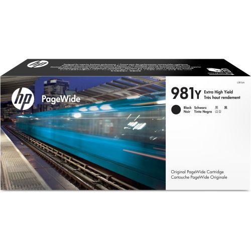 HP L0R16A 981Y Black Ink 345ml