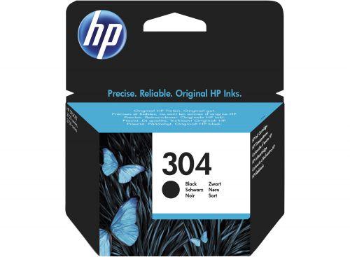 HP N9K06AE 304 Black Ink 4ml