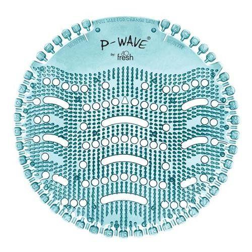 P-Wave Urinal Screens Ocean Mist PK10