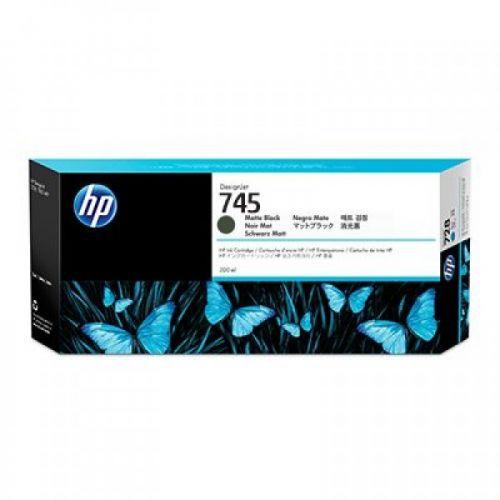HP F9K05A 745 MATT BLACK INK CART 300ML