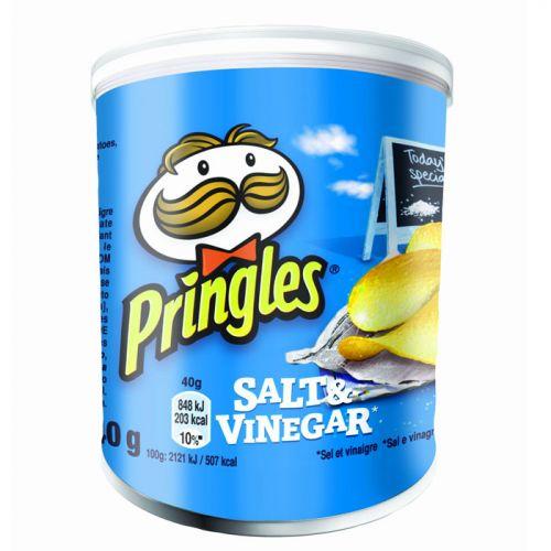 Pringles PopnGo Salt & Vinegar 12 x 40g