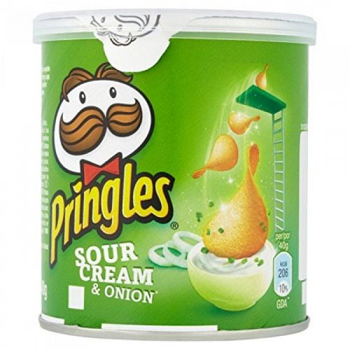 Pringles PopnGoSour Cream Onion 12 x 40g