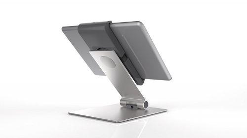 Durable Table Tablet Holder Aluminium Ref 893023
