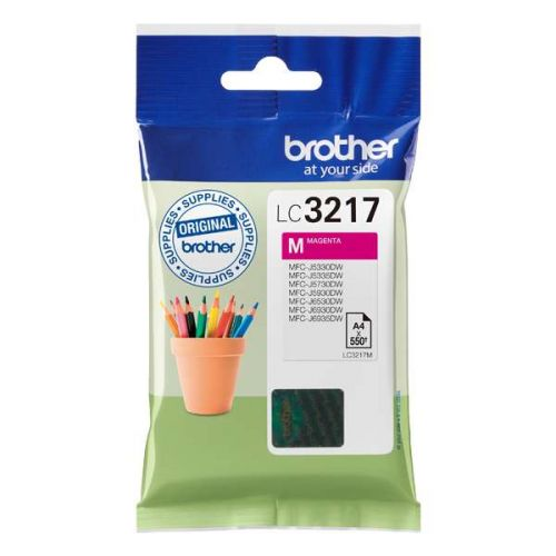 Brother LC3217M Magenta Ink 9ml