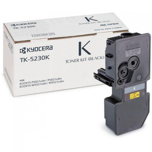Kyocera 1T02R90NL0 TK5230K Black Toner 2.6K
