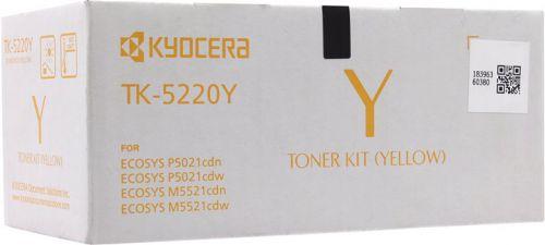 Kyocera 1T02R9ANL1 TK5220Y Yellow Toner 1.2K