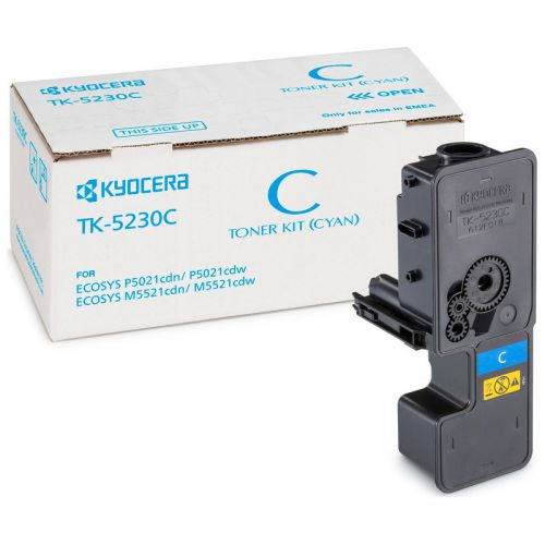 Kyocera 1T02R9CNL0 TK5230C Cyan Toner 2.2K